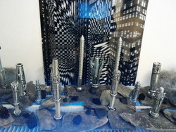 Nuts and Bolts Art installation