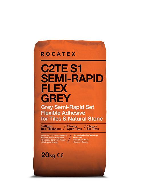 C2TE S1 SEMI-RAPID FLEX GREY ADHESIVE