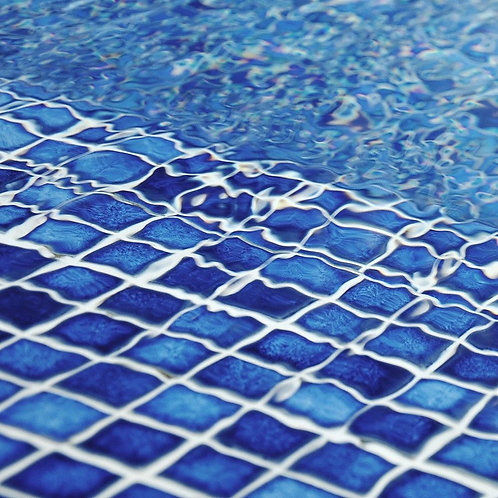 DEEP BLUE MOSAIC TILES