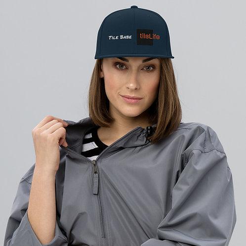 Tile Babe Snapback Hat