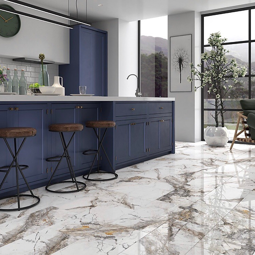 Zeus Marble Gloss Tiles (Sold per box)