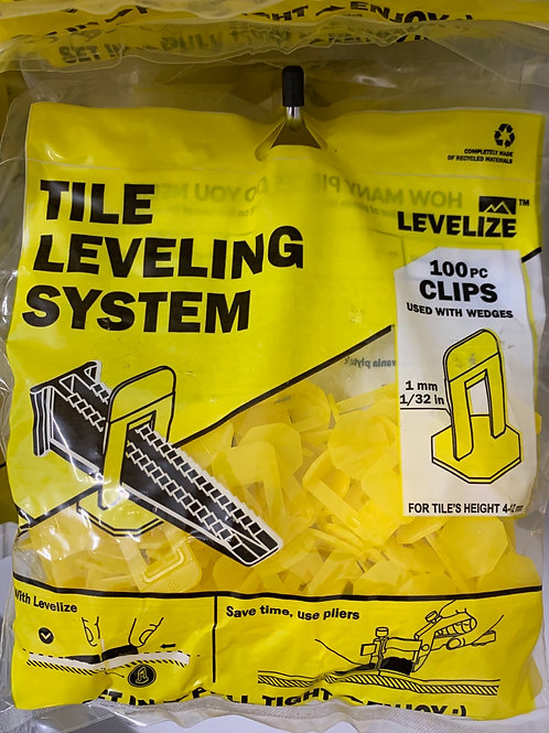 Levelize 1mm CLIPS