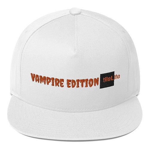 Vampire tileLife Flat Bill Cap