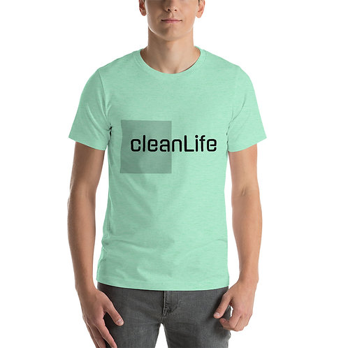 cleanLife Short-Sleeve Unisex T-Shirt
