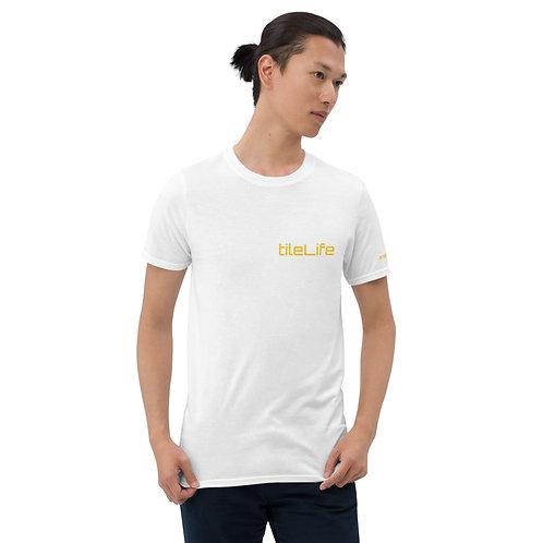 tileLife #repyourtrade gold Short-Sleeve Unisex T-Shirt