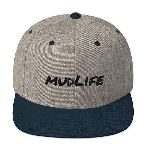 mudLife Snapback Hat