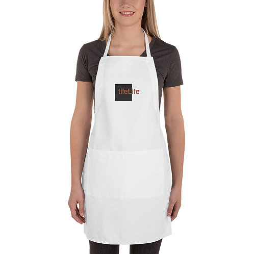 tileLife Embroidered Apron