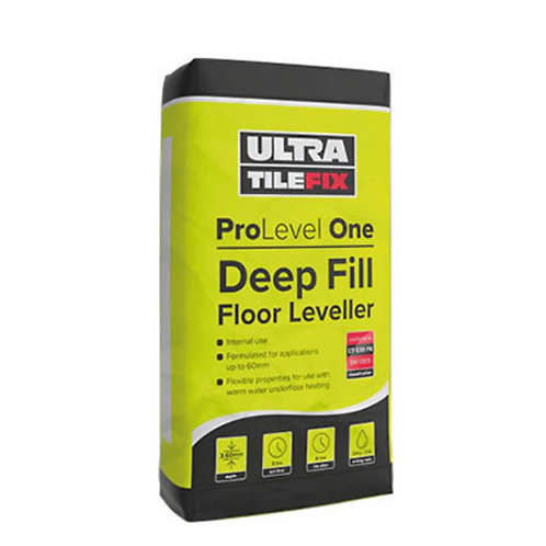 UltraTileFix Pro Level One Deep Fill Floor Leveller Pallet 54 bags