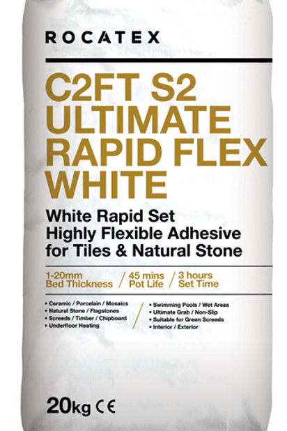 C2FT S2 White Flexible Adhesive 50 Bags