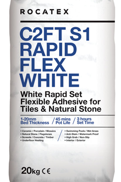 C2FT S1 Rapid Flex White Adhesive 50 Bags Deal