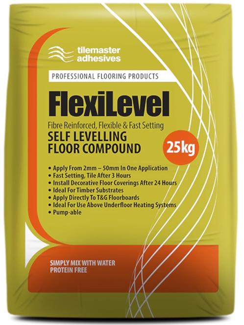 Tilemaster Flexilevel Fibre Reinforced Flexible Leveller 25kg