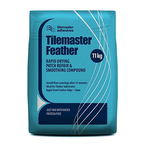Tilemaster Feather Rapid Drying Patch Repair & Smoothing Compound 11kg 40 bag