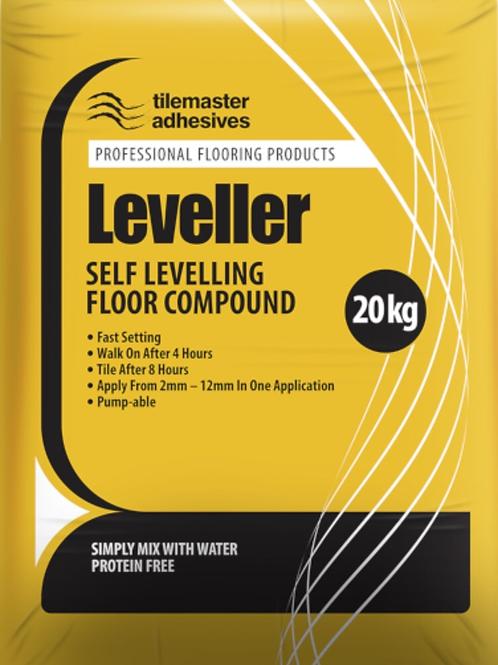 Tilemaster Leveller Grey 20kg Full Pallet (50 Bags Tail Lift)