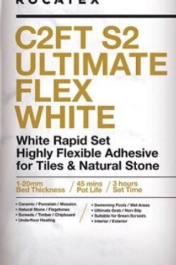 C2FT S2 RAPID FLEX WHITE ADHESIVE