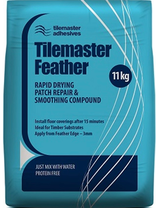 Tilemaster Feather Rapid Drying Patch Repair & Smoothing Compound 11kg