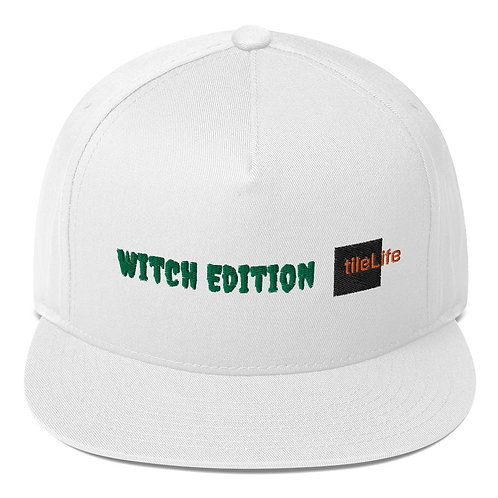 Witch tileLife Flat Bill Cap