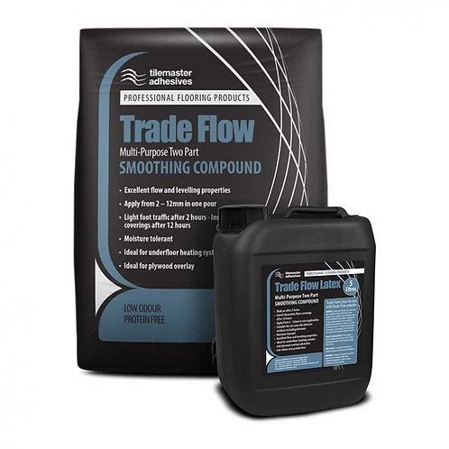 Tilemaster Trade Flow Two Part Smoothing Compound 20kg Full Pallet (40 Bags Tail