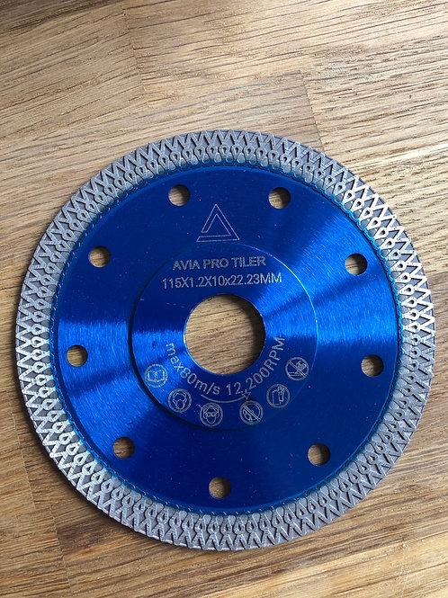 AVIA PRO TILER Diamond blades 115mm Angle grinder discs