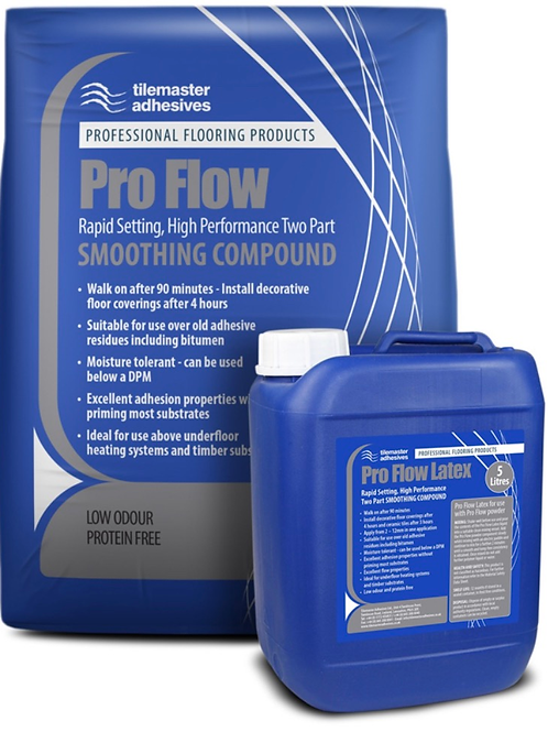 Tilemaster Pro Flow Rapid Setting Two Part Compound
