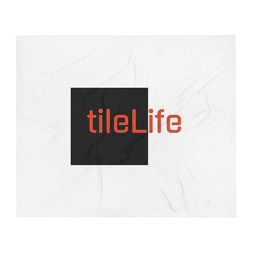 tileLife Throw Blanket