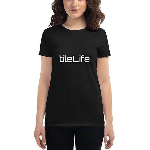 tileLife #repyourtrade Women's short sleeve t-shirt