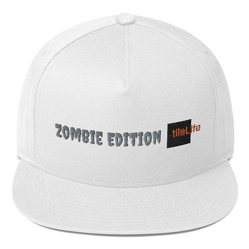 Zombie tileLife Flat Bill Cap