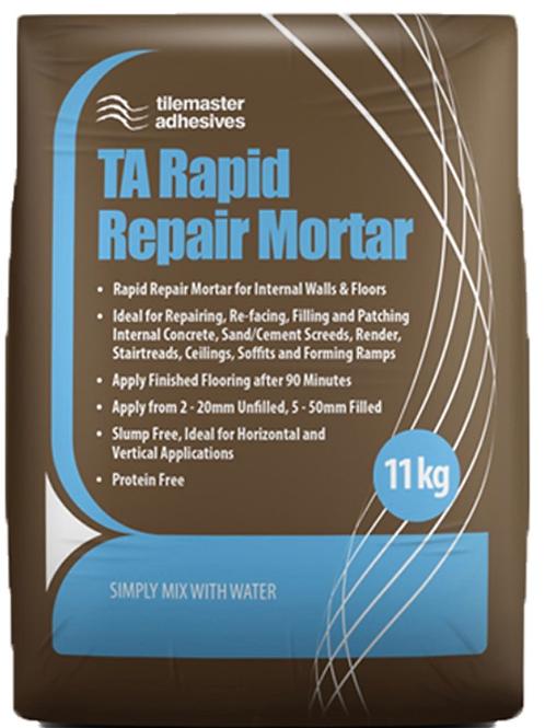Tilemaster TA Rapid Repair Mortar Grey 11kg