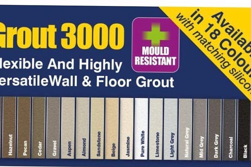 Tilemaster grout 3000