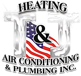 T&J Plumbing Heating and AC Logo