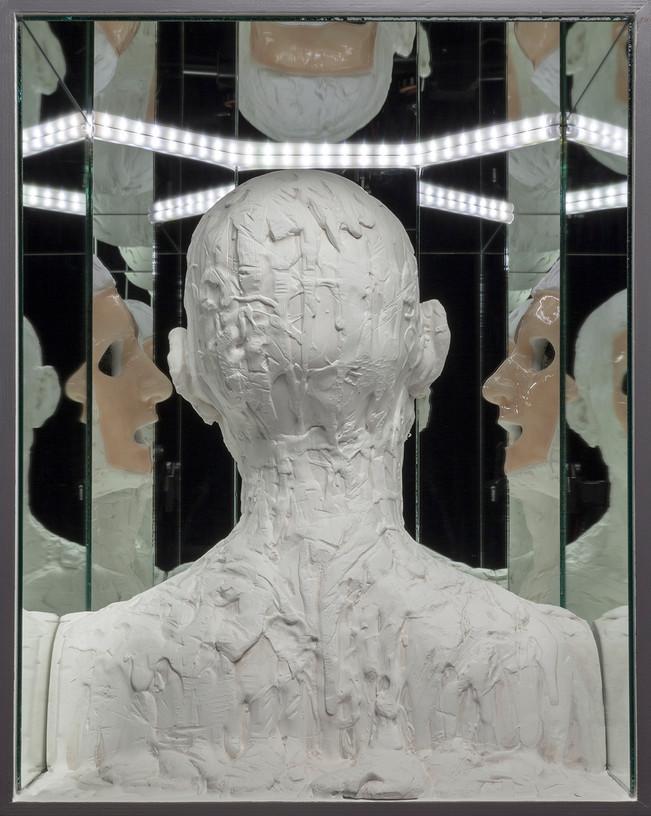 Boîte à réflexions intérieures (détail)