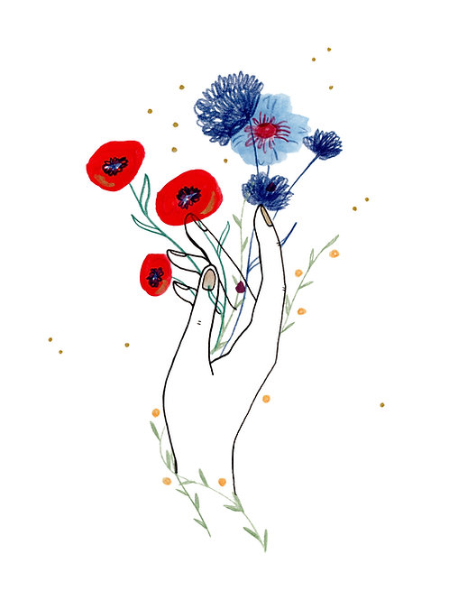 Mi ramo de flores