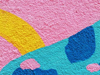 Mural The Good Lake