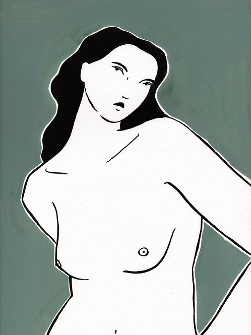 Mujer Oliva