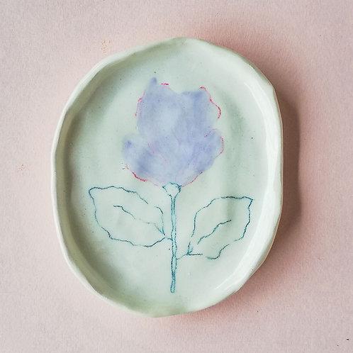 Plato flor
