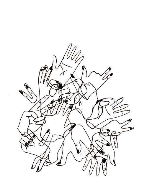 Torre de manos
