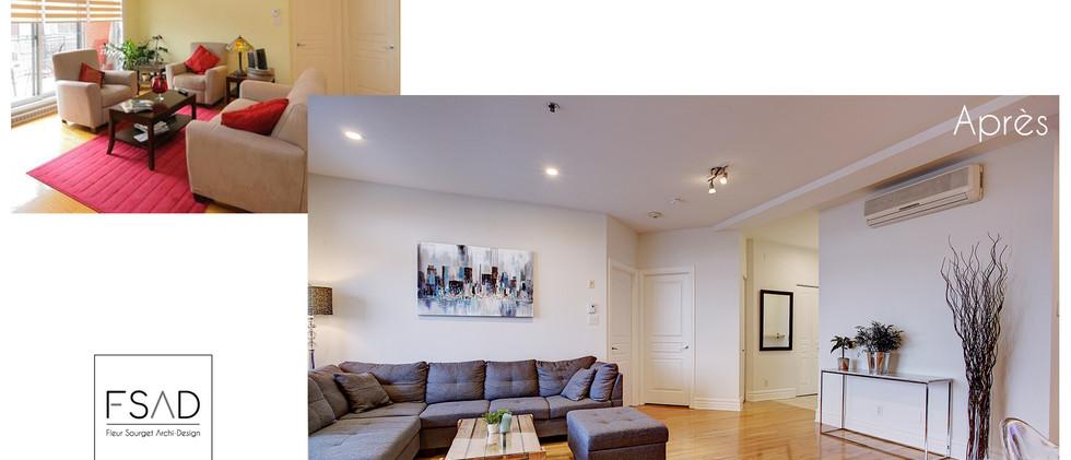 réaménagement d'un appartement à montréal
