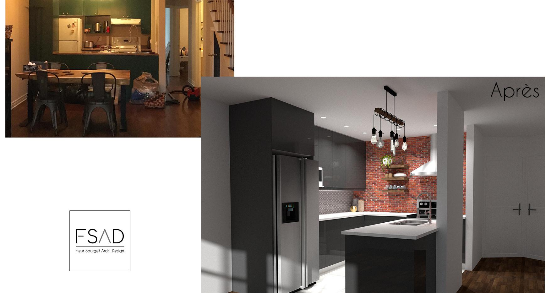 réaménagement d'une cuisine à montréal