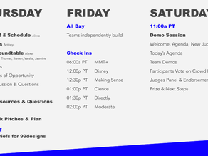 Agenda is final, Check it out here!