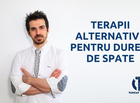TERAPII ALTERNATIVE PENTRU DURERI DE SPATE