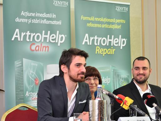 Conferinta de lansare ArtroHelp