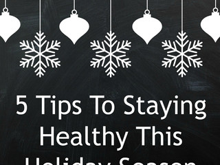 Secret To Staying Healthy During The Holidays
