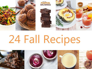 24 Recipes for your Fall menu