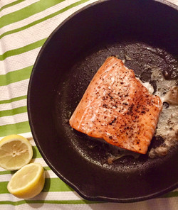 Amazingly Broiled Salmon