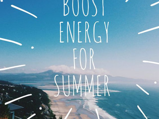 Boost your energy for the summer!