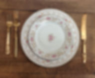 Mismatched China Rental Pricing packages california deals vintage china rental prices