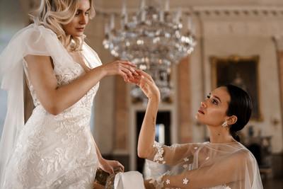 Elegant beautiful bride