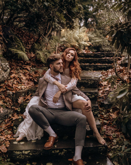 Emotionale Brautpaarfotos