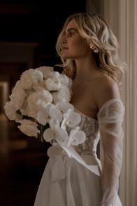 Moderne elegante Braut