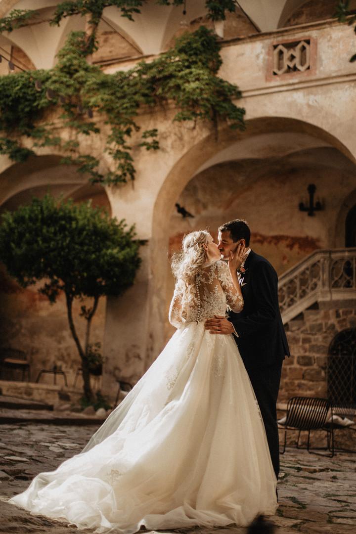 Wunderschöne Brautpaar
