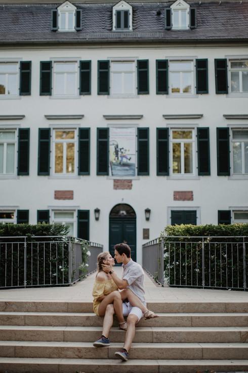 Romantisches Fotoshooting in Frankfurt